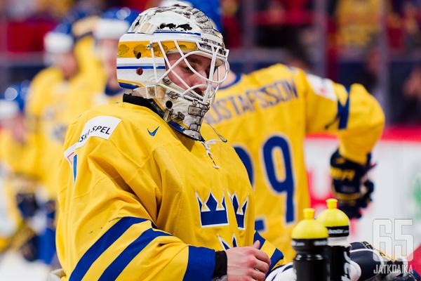 Jhonas Enroth on taas Ruotsin ykkönen.