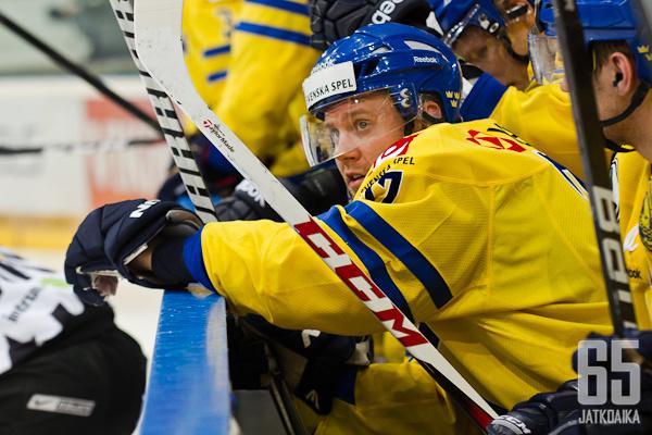 Patric Hörnqvistin turhautuminen purkautui toisessa erässä käytöskymppiin.
