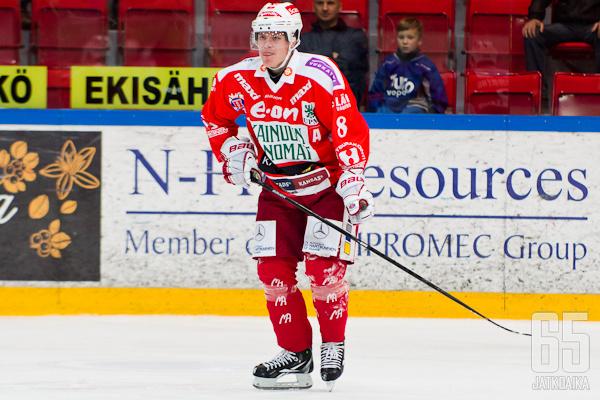 Henrik Forsberg jätti Mestiksen toistaiseksi taakseen.