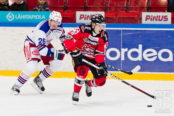 Kaijomaa edusti Jokipoikia viimeksi kaudella 2013-14.