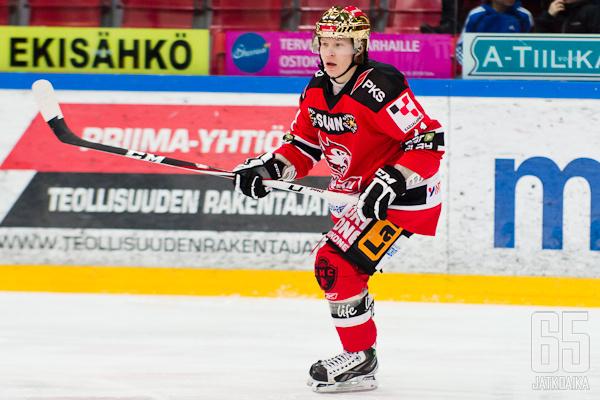 Roope Ranta pelaa alkavalla kaudella IK Oskarshamnissa.