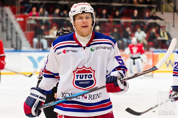 Marlo Koponen puolusti viime kauden Turussa.