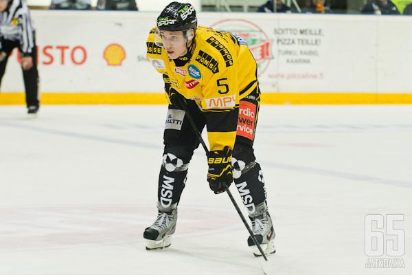 Miika Koivisto pelasi vahvan debyyttikauden.