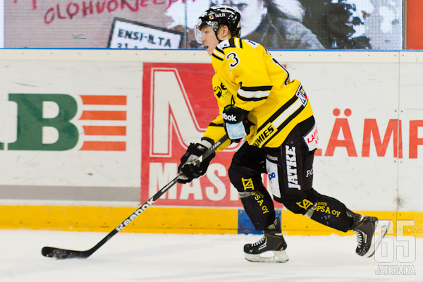 Jesse Mankinen on pelannut SaiPassa koko uransa.