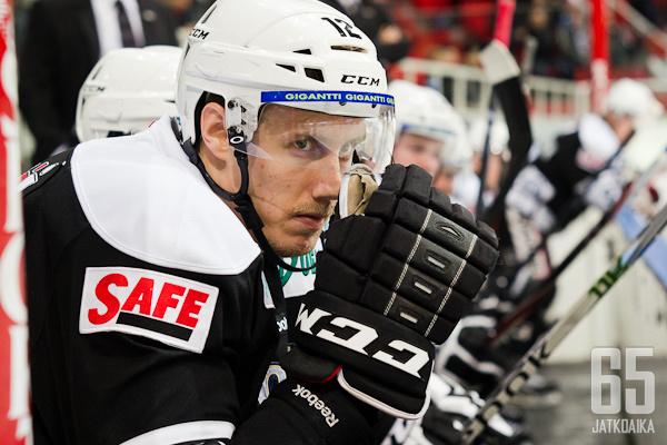Marko Anttila on ollut tasaviisikoin TPS:n tehokkain pelaaja.