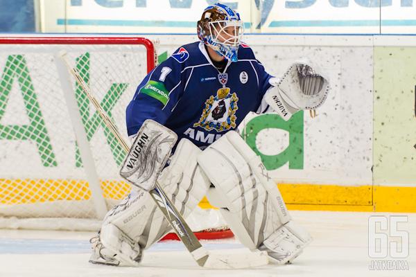 Amur Habarovsk oli Lasakin viimeinen KHL-seura.