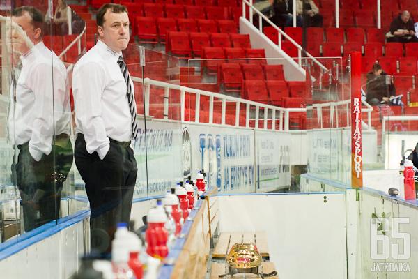 Juha Pajuoja jäi TPS:ssä ilman tilanteen vaatimia panostuksia.