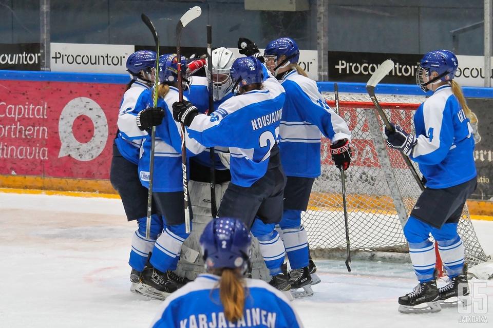 Team Kuortaneella oli syytä juhlaan.