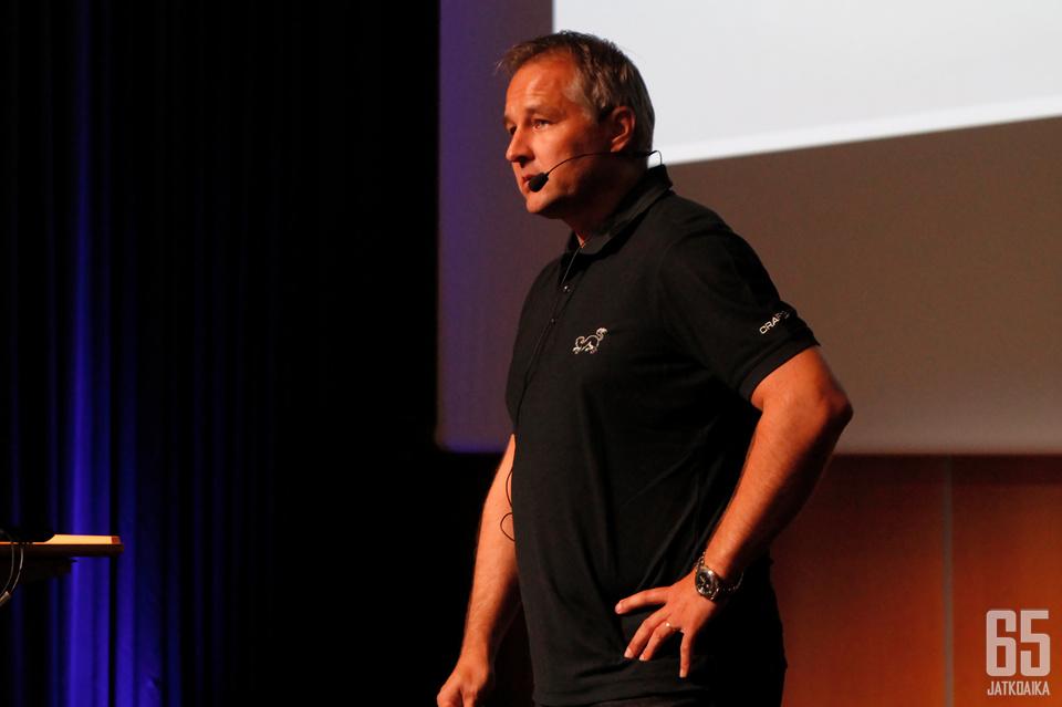 Tommi Virkkunen aloitti Kärppien toimitusjohtajana vuonna 2017.