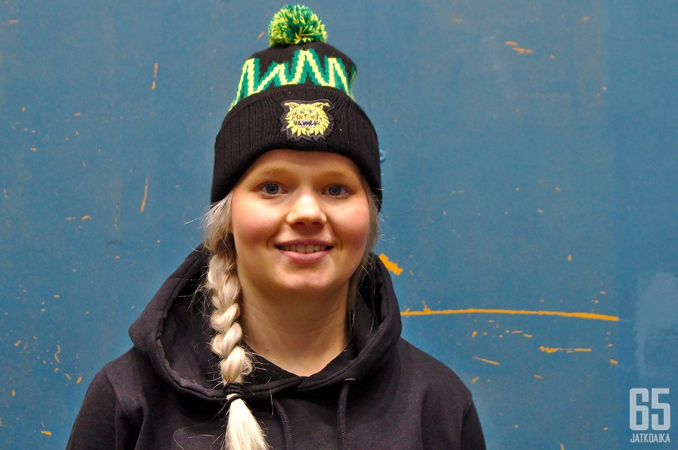 Linda Välimäki tavoittelee paikkaa olympiajoukkueessa.