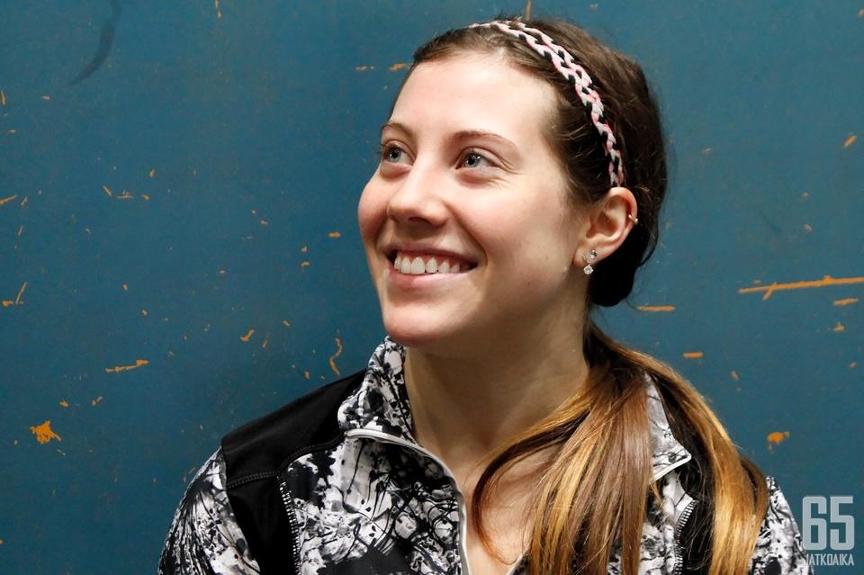 Kanadalainen Danielle Rozon on viihtynyt Suomessa jo neljän vuoden ajan.