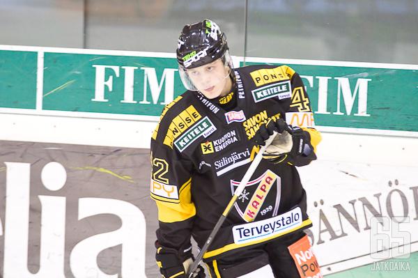 Kasperi Kapanen teki keväällä neljä liigaosumaa.