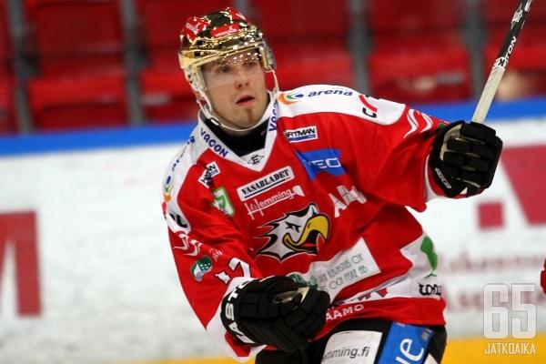 Jussi Tapio jatkaa vaasalaisjoukkueessa.