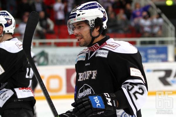 Camilo Miettinen ja kumppanit joutuivat jälleen tyytymään yhteen pisteeseen.