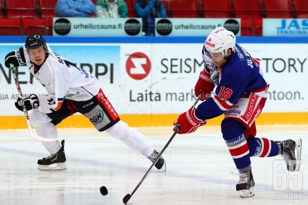 Juha Virtasen pelit TUTOn väreissä ovat tältä erää ohi.