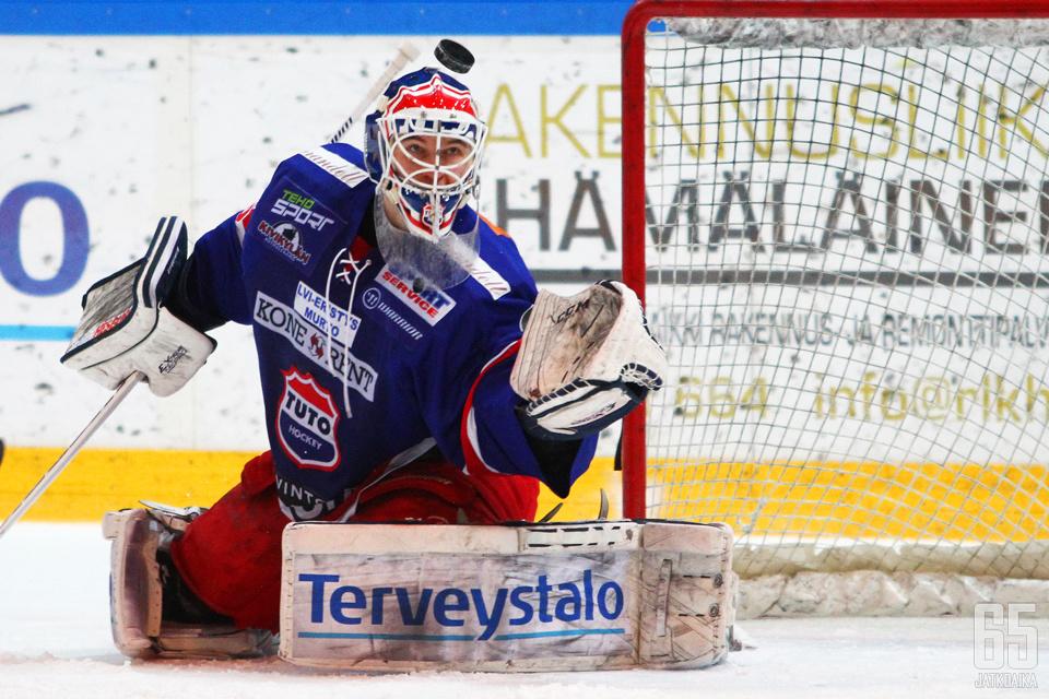 Kaapo Kähkönen teki viime kaudella TUTOssa vakuuttavaa jälkeä.