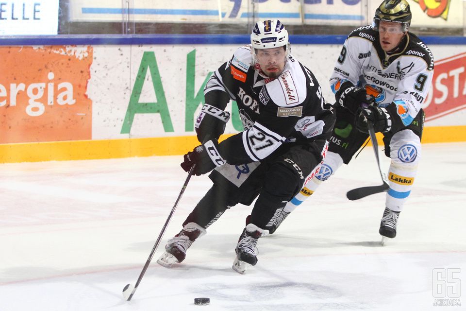 Virtala edusti TPS:ää kuuden kauden ajan.
