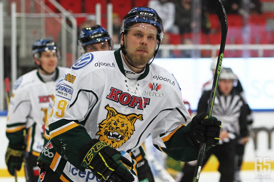 Antti Tyrväinen ehti olla Ilveksessä monessa mukana.