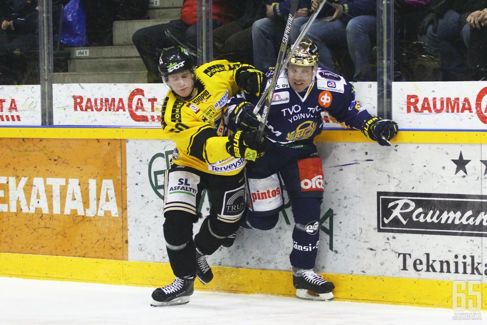 Vahalahti ehti pelata KalPa-sarjassa vajaa kolme ottelua.