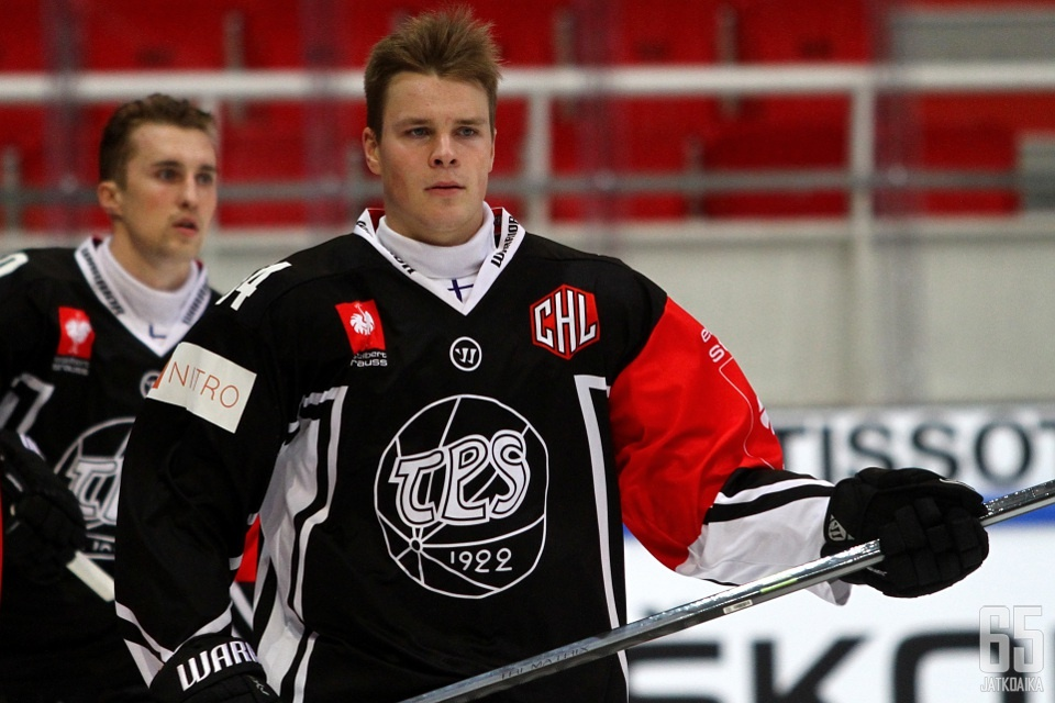 Mikko Lehtonen käytti tilaisuutensa ja nauttii vastuusta.