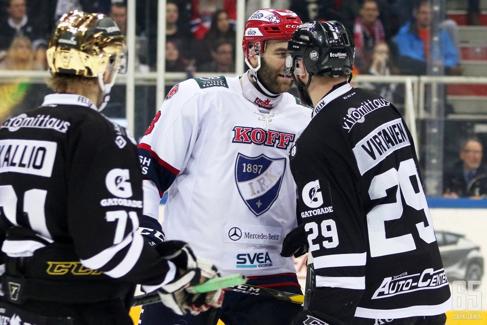 HIFK on sortunut edellisissä otteluissa turhaan jäähyilyyn.