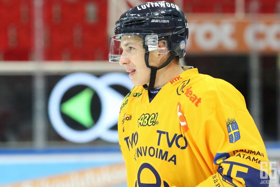 Lukko ja Arttu Ilomäki käyttivät sopimukseensa kirjatun yhden vuoden option.
