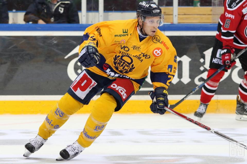 Lauri Tukonen loukkaantui ennen kauden alkua.