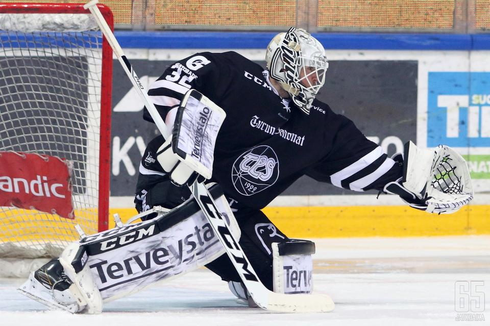 Rasmus Tirronen torjui kaiken mahdollisen.
