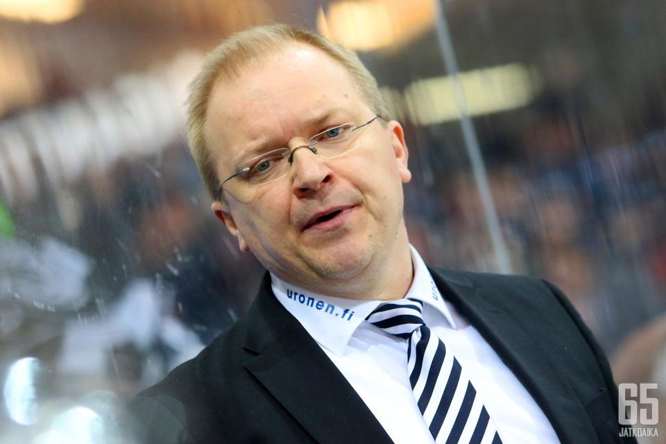 Kalle Kaskinen oli luottavainen omaan joukkueeseensa tappiosta huolimatta.