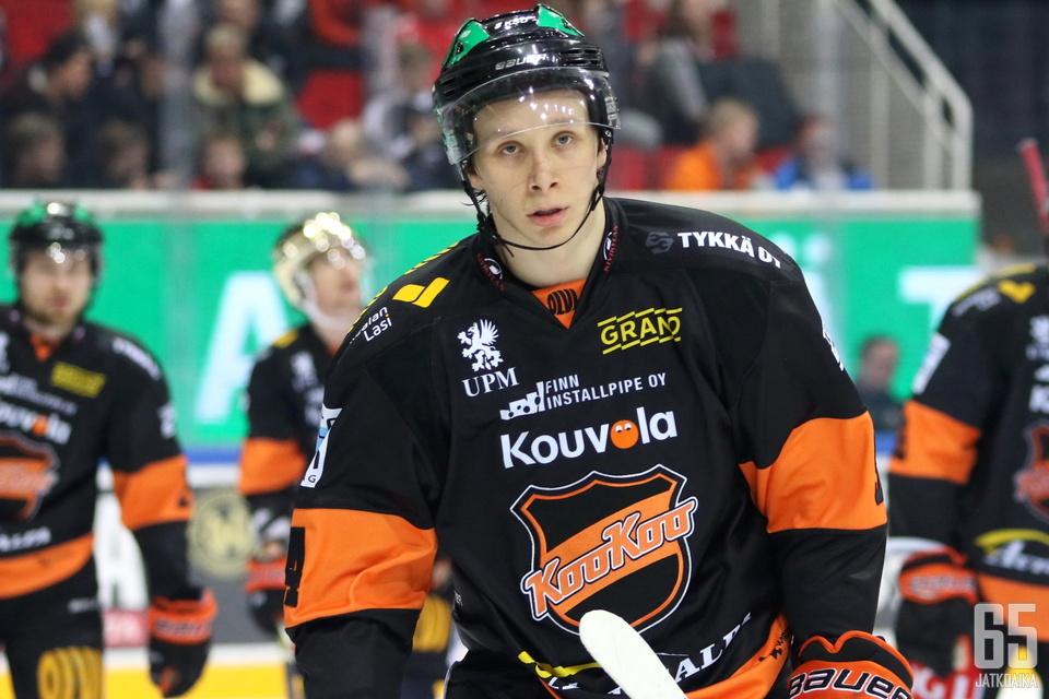 Anrei Hakulinen vastasi KooKoon ensimmäisestä maalista.