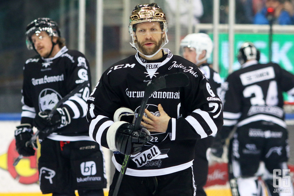TPS:n viiteen peräkkäiseen tappioon päättynyt kausi sai kapteeni Tomi Kallion mietteliääksi.