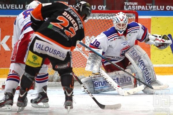 Tommi Virtanen oli Janne Öfverströmin ohella TUTOn voiton takuumies.