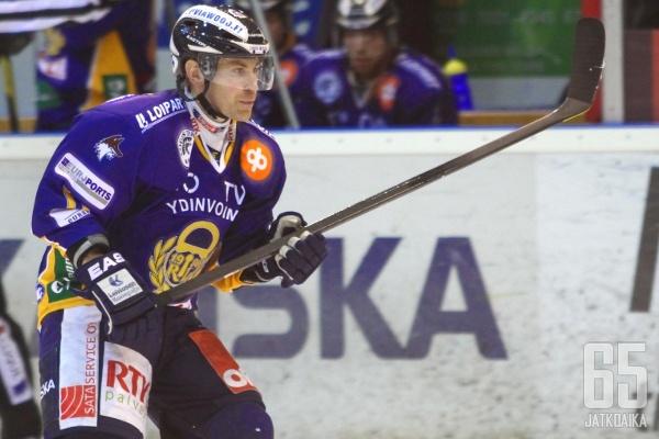 Koskenkorva pelasi viime kauden Rauman Lukossa.