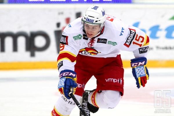 Markus Hännikäinen on jokerikasvatti.