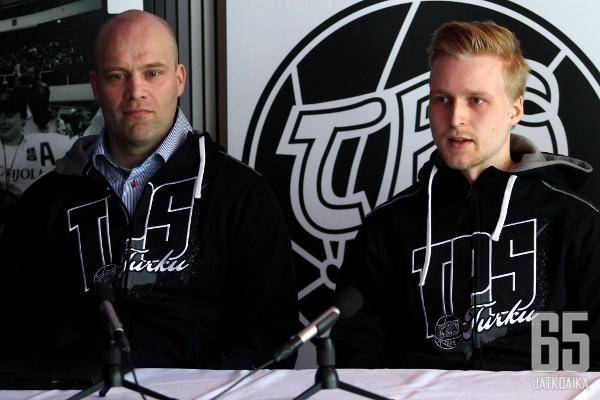 Sekä Fredrik Norrena että Matias Sointu vaikuttavat ensi kaudella TPS:ssä.
