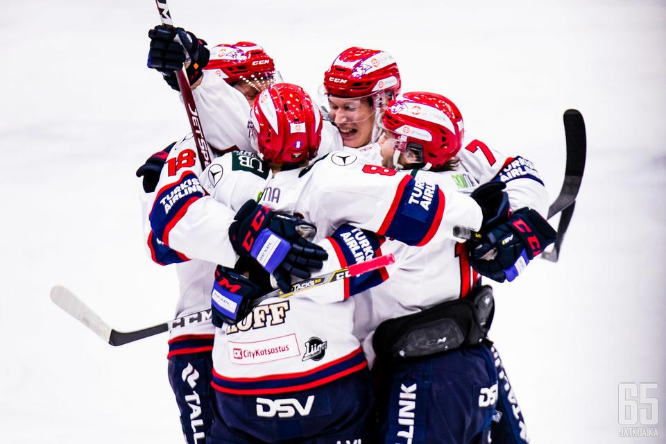 HIFK oli ottelun alussa riittävän tehokas.