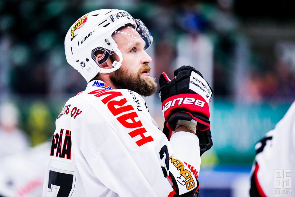JYPin ja Mikko Mäenpään ilta oli jälleen synkkä.