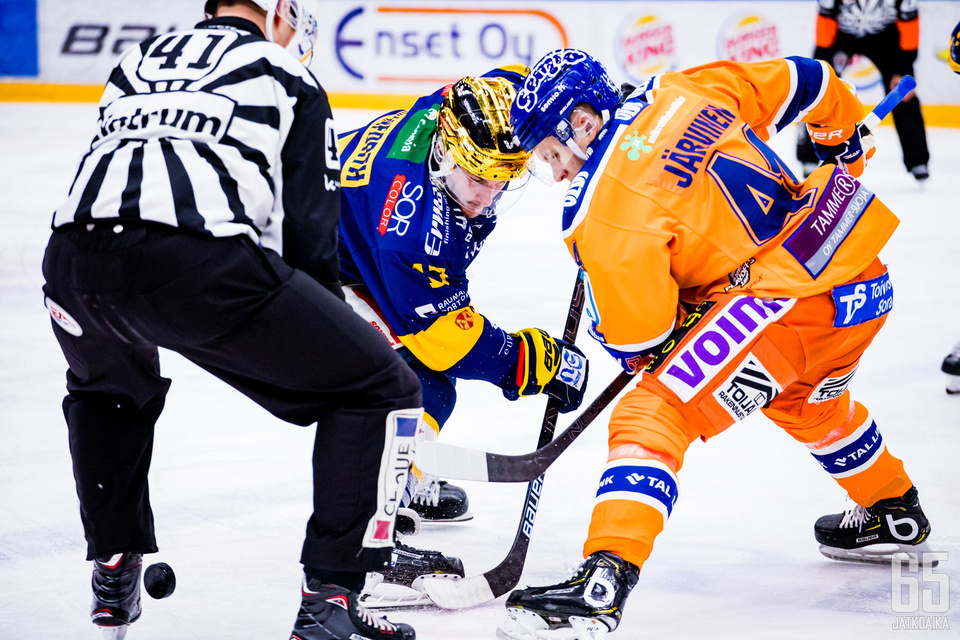 Jan-Mikael Järvinen on Tapparan tukipilareita.