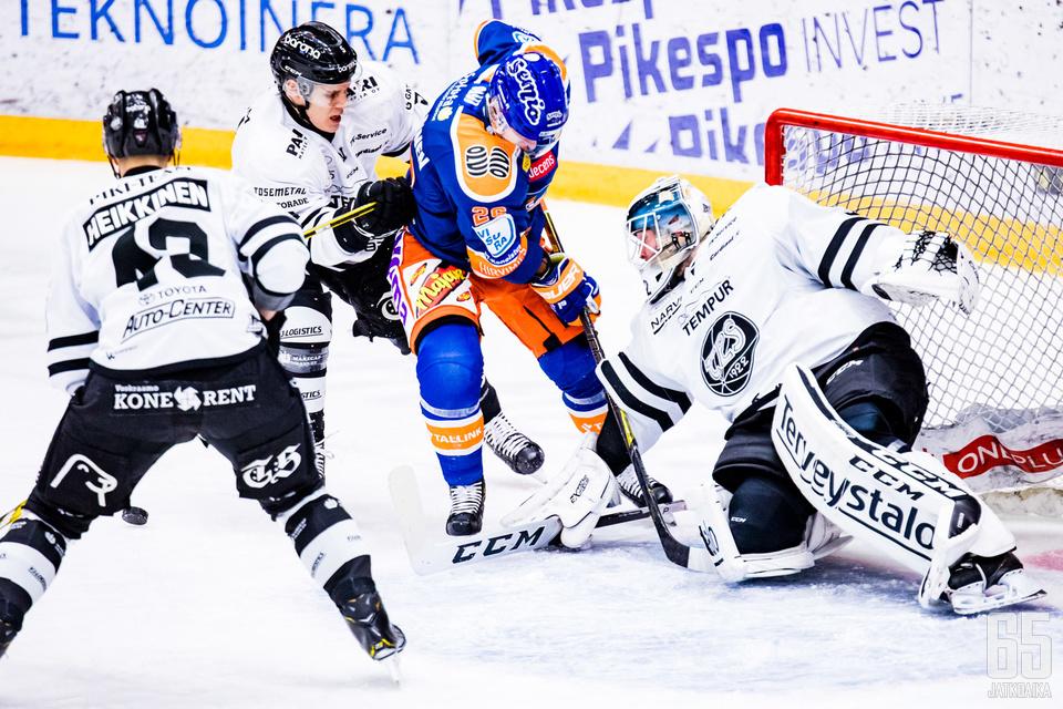 Liiga toi oman sovelluksensa käyttöön pudotuspelien tiukkoihin vääntöihin.
