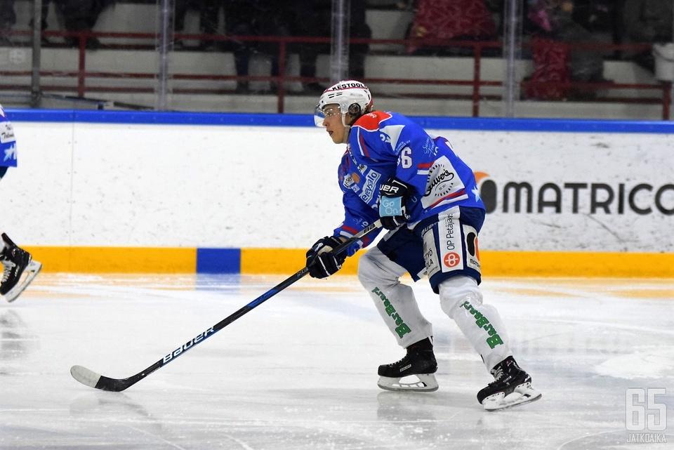 Ville Tiitinen pelaa ensi kaudella SaPKossa.