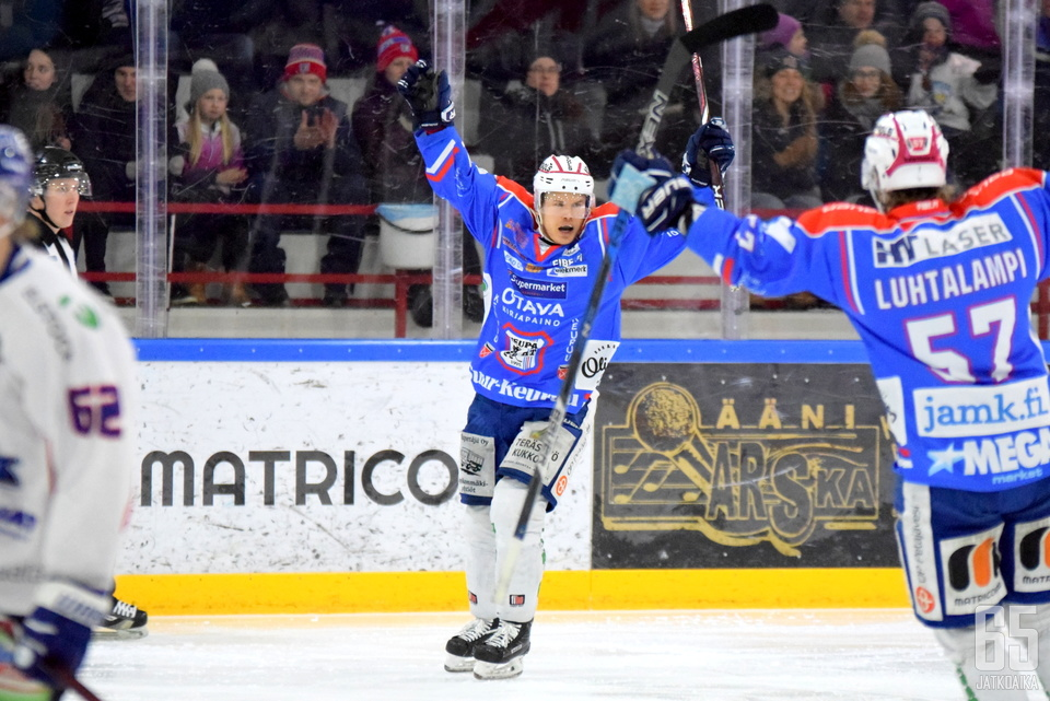 Paalanen pelasi viime kauden KeuPassa.