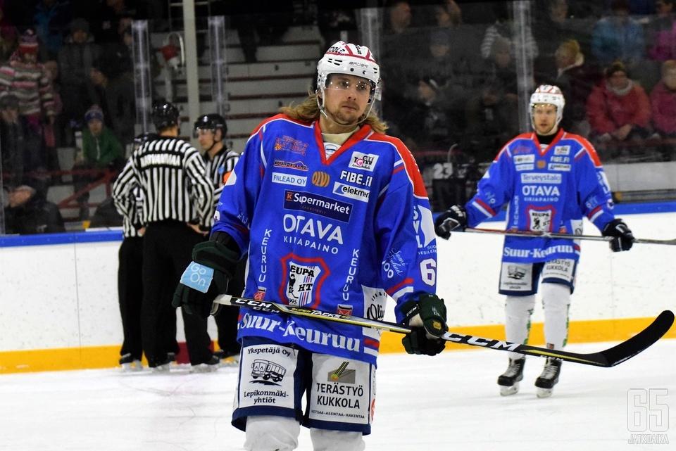 Niko Ahoniemi pelasi alkukauden KeuPassa.