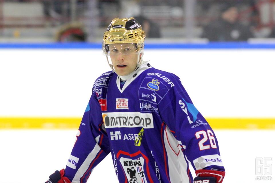Kouvalainen pelasi tehokkaan kauden Keuruulla.