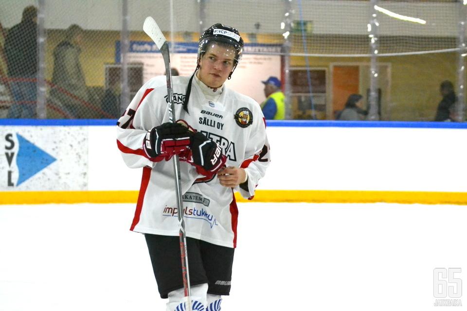 Riku Pitkänen on joukkueensa avainpelaajia.