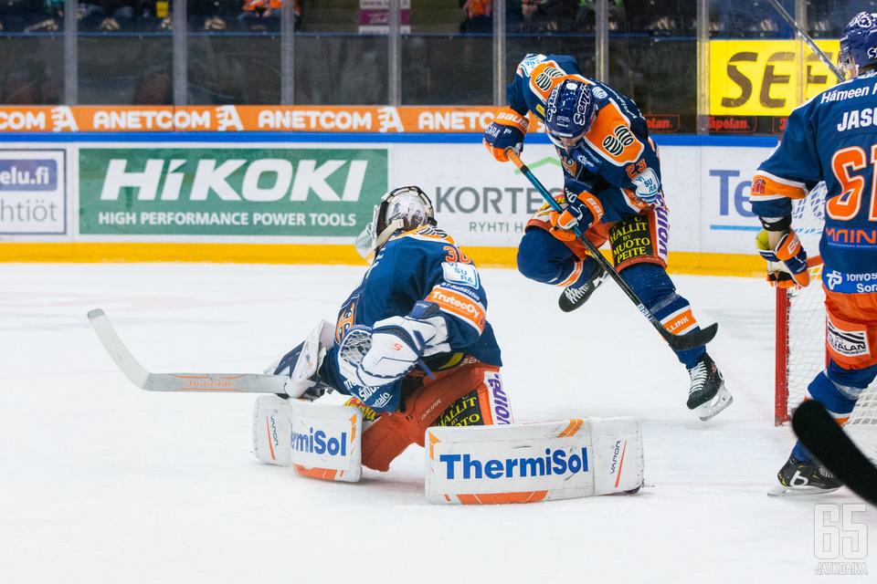 Christian Heljanko oli yksi illan hahmoja Tampereella