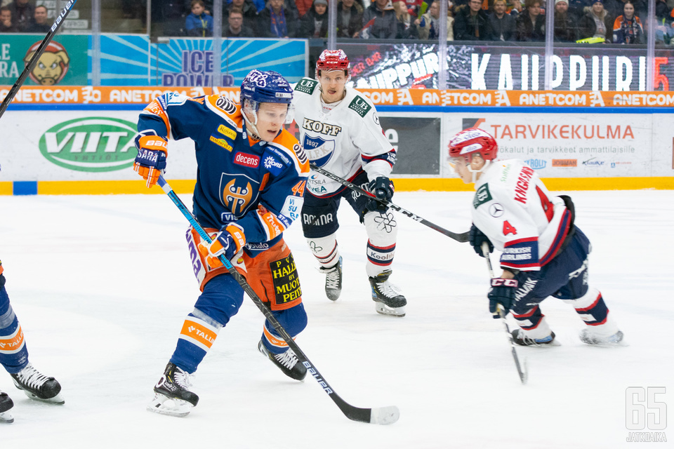 Järvinen paranteli yhden kauden piste-ennätystään.