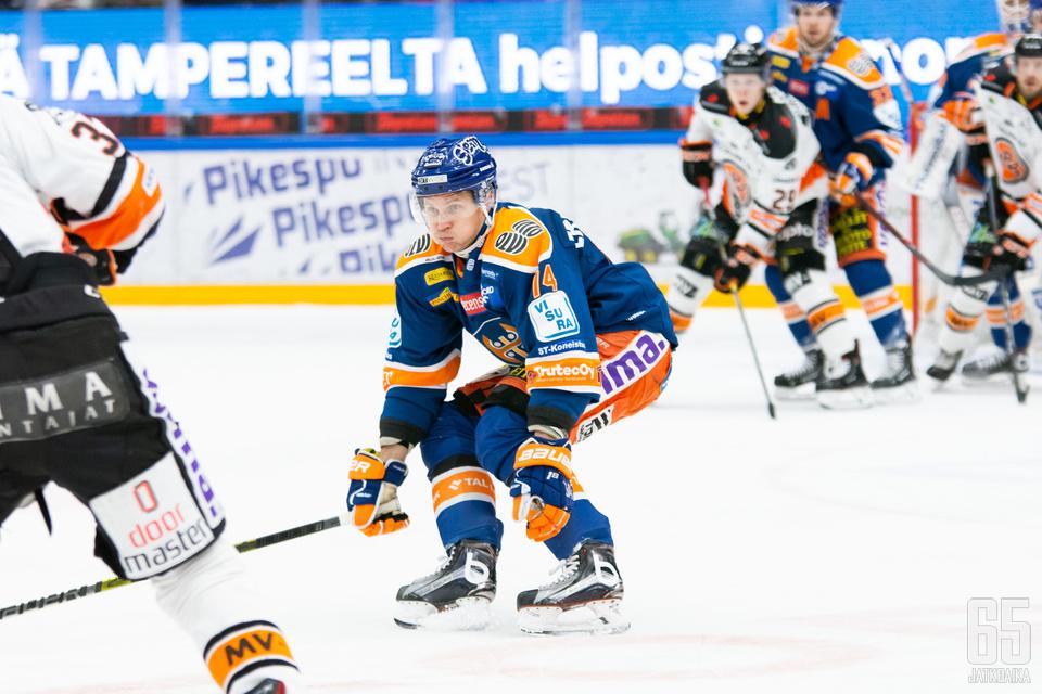 Antti Erkinjuntti on taas pelikunnossa.