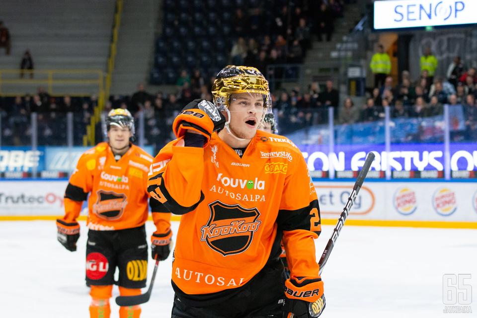 Strömwall oli runkosarjan näkyvimpiä pelaajia.