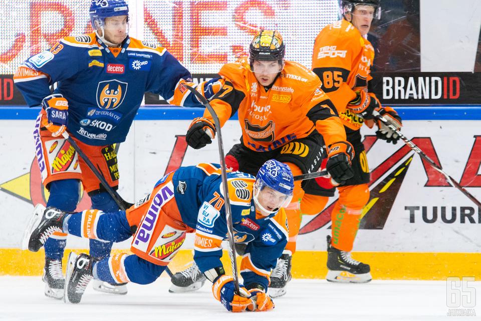 Tappara ja KooKoo iskivät yhteen Tampereella