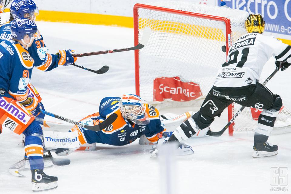 Ilari Filppula oli kentän ykköstähti tänään.